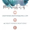 Notice of Fictitious Name for CreativeNes Creations