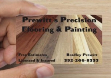 PREWITT'S PRECISION FLOORING AND PAINTING LLC