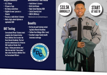 Lowell Correctional Institution is now hiring certified and non-certified correctional officers
